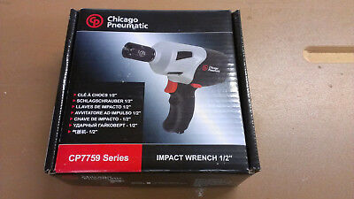Chicago Pneumatic Cp7759q 12-inch Heavy Duty Pneumatic Impact Wrench New