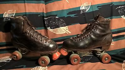 Riedell Roller Skates Size 9 Men 10 ladies  Low Tops, Sure-Grip Super X plates