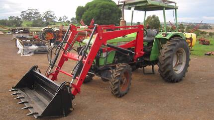 Deutz D5206 4wd 50hp tractor WITH 4 IN 1 LOADER