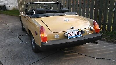 1975 MG Midget Convertible mg midget