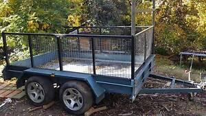 Tandem cage trailer Lenswood Adelaide Hills Preview