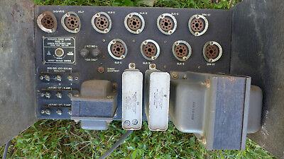Lambda 32 Tube Regulated Adjustable Power Supply 200 - 325 Volts V