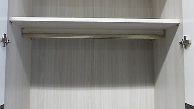Einlegeboden grau gestreift   Einlegeböden   Steffen Möbel   915mm