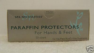 Gena Paraffin (GENA Professional Spa Necessities PARAFFIN PROTECTORS Waxing Hands Feet ~ 50 ct!)