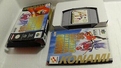 Nagano Winter Olympics 98 - Komplett/OVP Nintendo 64 N64