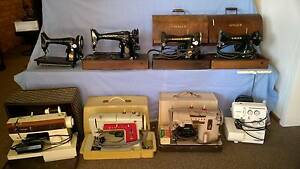 Antique Singer Sewing Machine Collection plus more machines Newcastle Newcastle Area Preview