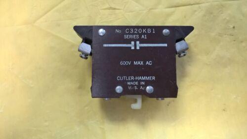 Cuttler Hammer #C320-KB1 Series A1 600 MAX AC