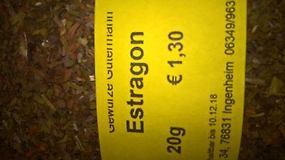 Estragon 20g -OHNE ZUSATZSTOFFE- Gewürze Gütermann