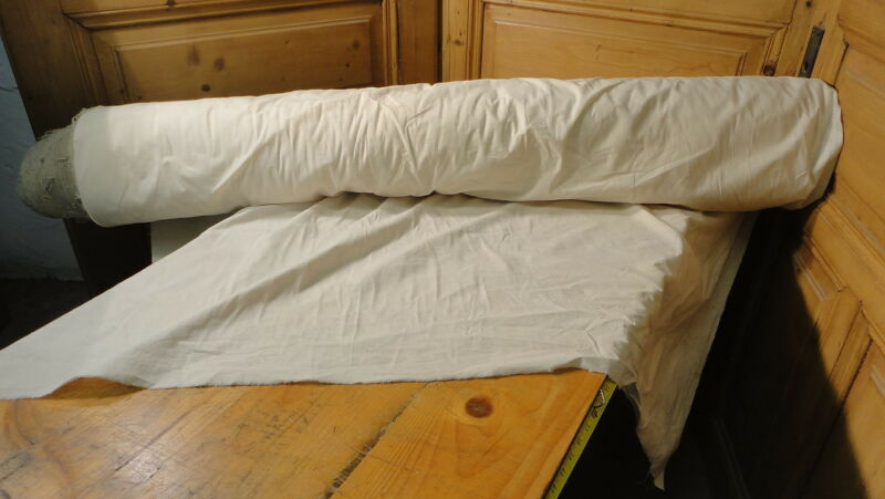 Homespun Linen Hemp/Flax Yardage 32 Yards x 53