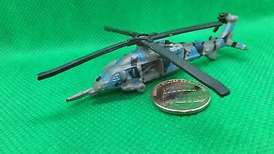"MILITARY MICRO MACHINES  UH60A UH-60A BLUE BLACK HAWK BLACKHAWK  HELICOPTER ""B""  for sale  Springbrook"