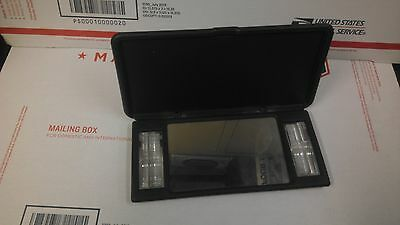 OEM 94-05 Blazer Jimmy S10 Sonoma Sun Visor Vanity lighted Mirror Charcoal (Oem Blazer)