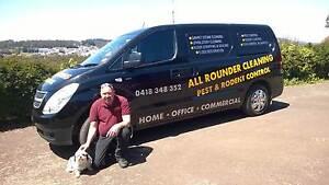 ALL ROUNDER CARPET  CLEANING & PEST CONTROL Devonport Devonport Area Preview