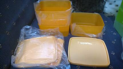 Tupperware set of 4 containers new in pkt