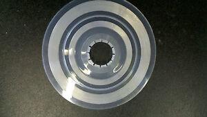Plastic Bicycle Freewheel Guard Spoke Protector- 7 1/4 inch round