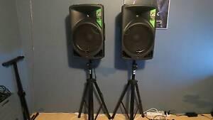 "Alto TX15 1200-Watt 15"" 2-Way Active Loudspeakers Gosnells Gosnells Area Preview"