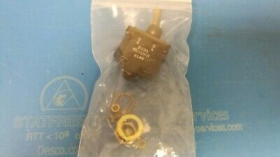 Honeywell Toggle Switch 2tl1-8 Ms24524-26 Momentary Onon Dpdt