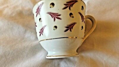 Vintage Made Occupied Japan Regal China Demitasse Cup Coronation Pattern CL9-15