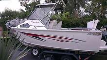 aluminium sportfish 5.7m plate boat Blakehurst Kogarah Area Preview