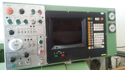 Hitachi Cnc Lathe With Fanuc T3 Control