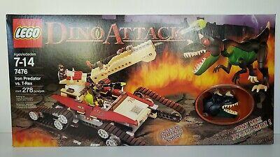 LEGO Dino Attack Iron Predator vs. T-Rex (Lego Dino Attack Iron Predator Vs T Rex)