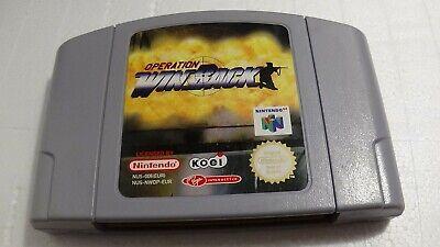 (ab 18) Operation: WinBack - Nintendo 64 N64