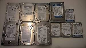 Assorted Internal SATA Hard Drives Ormeau Gold Coast North Preview