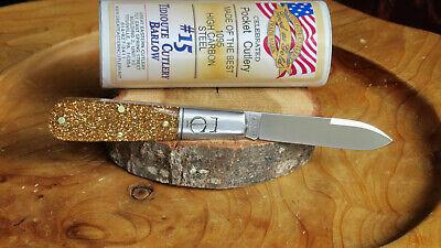 Great Eastern Cutlery 152121 TC Barlow Glitter Gold Acrylic Tidioute MIT