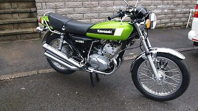 kawasaki kh250 1979 new unregistered uk bike