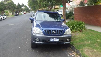 Low km 2003 Hyundai Terracan backpacker car Caulfield South Glen Eira Area Preview