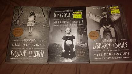 Miss Peregrines Peculiar Children Book Series. BARGAIN!