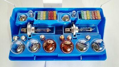 3x Set Auto-Lampenbox H7 12 V Ersatz-Lampen Glühlampen Birnen-Kasten Sicherungen