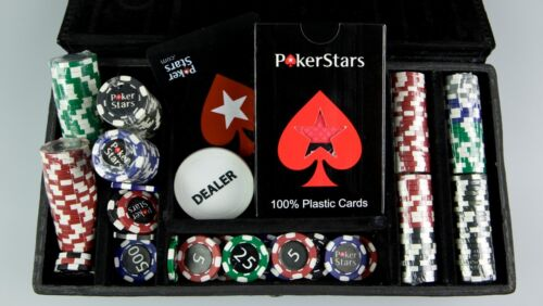 Pokerstars                Mini chips sets 200PCS)   PS.NET
