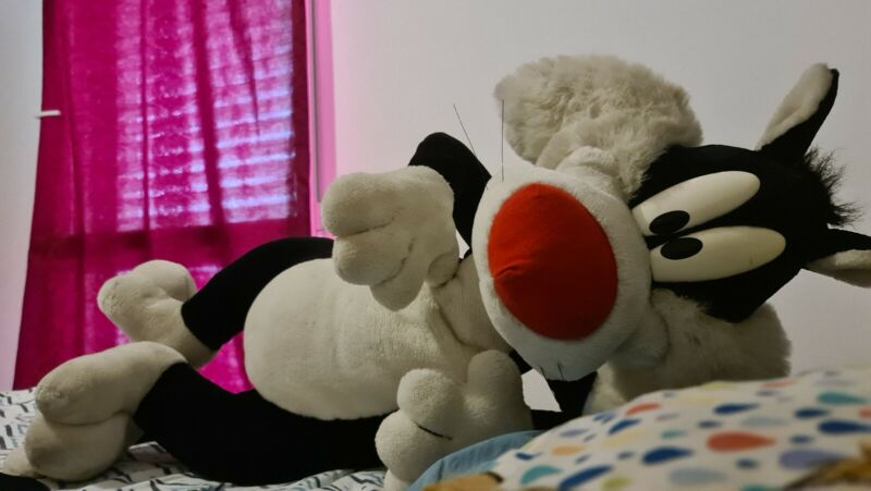 LOONEY TUNES - GIANT SYLVESTER PLUSH 140CM EXTREMELY RARE