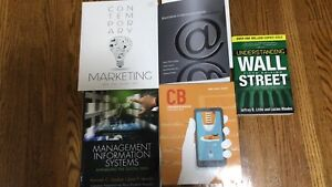 Selling Business Textbooks for cheap!!