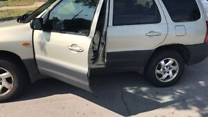 2003 Mazda Tribute for sale or trade for motorcycle