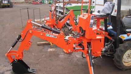 Backhoe attachment for small tractors model B5 Balliang East Moorabool Area Preview