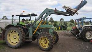 John Deere 1640 4wd with 4 in 1 front loader Balliang East Moorabool Area Preview