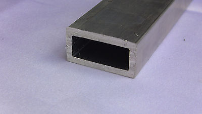 Aluminum Architectural Rectangle Tube .125 X .75 X 1.5 X 48 In. 6063 Uaac