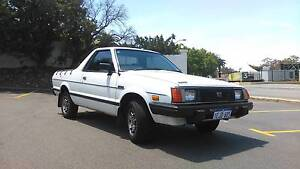 1989 Subaru Brumby East Perth Perth City Area Preview