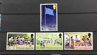 PITCAIRN ISLANDS # 123-126. SOUTH PACIFIC COMMISSION, 25th ANNIVERSARY. MNH.