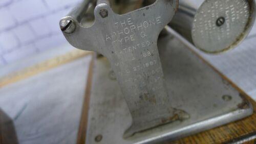 Antique Oak Columbia Graphophone Model Q Horn