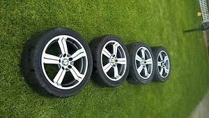 """wheels CSA 17""""inch with wheel nuts and lock nuts Elizabeth North Playford Area Preview"""