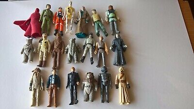 Various Vintage Star Wars Toys, Empire Strikes Back, Return of the Jedi