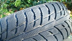 Four BFGoodrich Winter Tires, used for one season
