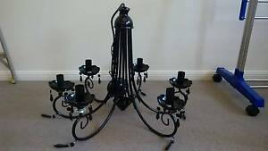 New - French Provincial Chandelier - Black Gumdale Brisbane South East Preview