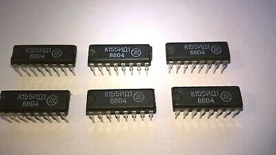 X1 Ussr Nixie Driver K155id1 74141 Nos Release Date 8804 100 Tested