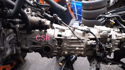 Subaru Forester GT EJ25 Turbo Manual Gearbox includes Rear Diff