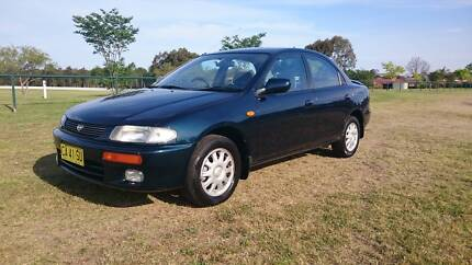 1995 Mazda 323 Sedan - 81000km Only - GOOD CONDITION Glendenning Blacktown Area Preview
