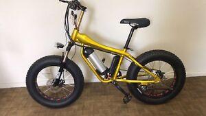 Electric Bike BMX.