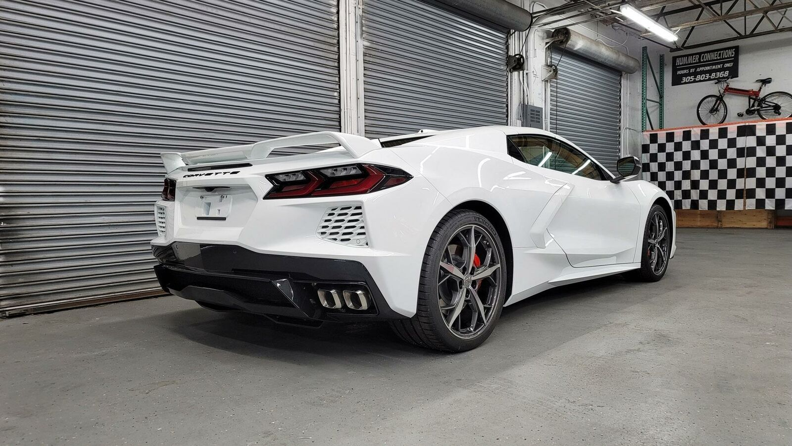 2021 White Chevrolet Corvette  3LT | C7 Corvette Photo 10